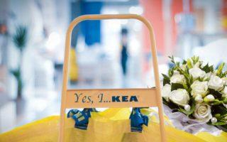 dekoracje ślubne z IKEA